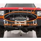 Barre acier pour pare chocs avant acier Jeep Cherokee XJ