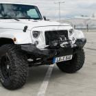 Pare chocs avant acier avec porte treuil Rock Brawler (Poison Spider) Jeep Wrangler JK