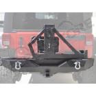 Pare chocs arrière en acier avec porte roue de secours pour Jeep Wrangler JK