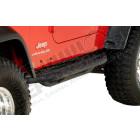 Kit de marche pieds noir '' rock crawler'' Jeep Wrangler YJ et TJ