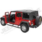 Kit marches pieds électrique avec plateau, pour Jeep Wrangler JK Unlimited, 4 portes