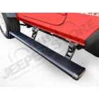 Kit marches pieds électrique avec plateau, pour Jeep Wrangler JK , 2 portes (la paire) supporte 270kg par coté marche pieds en aluminium LED intégré à la descente