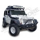 Pare chocs avant acier avec porte treuil type: 4 LED Jeep Wrangler JK