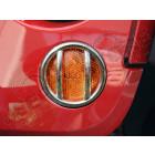 Grilles de protection de feu, acier inox (feux clignotants avant calandre), Wrangler JK,