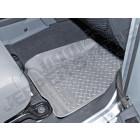 Kit de tapis de sol en caoutchouc avant gris, Wrangler JK (2 ou 4 portes)