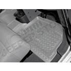 Kit de tapis de sol en caoutchouc arrière gris (4 portes), Wrangler JK Unlimited