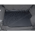 Tapis de coffre caoutchouc noir préformé , Jeep Wrangler JK Unlimited (4 portes)