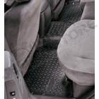 Kit de tapis de sol en plastique caoutchouc préformé pour l'arrière Jeep Grand Cherokee WH, WK