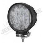 Feu Longue portée rond à LED , 27W - 1755 lumens (diamètre: 115mm)
