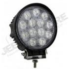 Feu Longue portée rond à LED , 39W - 2535 lumens (diamètre: 11.70cm)