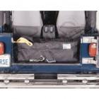 Caisse de rangement arrière, couleur: noir, CJ, YJ, TJ
