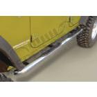 Kit marches pieds INOX avec anti dérappant, pour Wrangler JK Unlimited 4 portes
