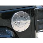 Trappe à essence en aluminium poli version antivol Jeep Wrangler JK