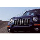 Enjoliveur de calandre chromé (plastique) , Jeep Cherokee Liberty KJ