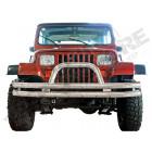 Pare buffles avant (Pare chocs) acier inox Jeep Wrangler YJ
