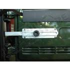 Butoir de roue de secours, aluminium, Jeep Wrangler YJ, TJ, JK