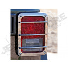 Protections de feu arrière, acier inox (en fonte), Jeep Wrangler JK