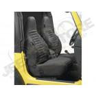 Kit de housses de sièges avant couleur: Black Denim (noir) Jeep Wrangler TJ