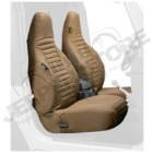 Kit de housses de sièges avant couleur: Spice (marron) Jeep Wrangler TJ