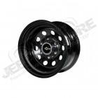 Jante Acier Modular Black 8x16 5x114.3 ET: 0 pour Jeep: YJ, TJ, MJ, XJ, KJ, ZJ, ZGKJ, ZJ, ZG