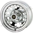 Jante acier Modular Chromé 8x15 - 5x139.7 - ET: -25 pour Jeep CJ, SJ, ...