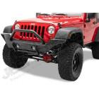 Pare chocs avant acier noir High Rock Jeep Wrangler JK