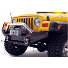 Barre acier inox rock crawling Jeep Wrangler YJ, TJ, JK (photo n° 3)