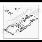 Châssis nu 4.0L essence pour Jeep Wrangler TJ