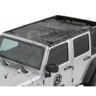 Bikini Safari couleur: Black Mesh Jeep Wrangler JK Unlimited (4 portes)