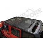Bikini Safari Mesh couleur: Black Diamond Jeep Wrangler JK Unlimited (4 portes)
