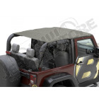 "Bikini header version: ""Safari"" , couleur: Khaki , Jeep Wrangler JK 2 portes"