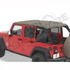 "Bikini header version: ""Safari"" , couleur: Khaki Diamond, Jeep Wrangler JK Unlimited 4 portes"
