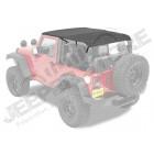 "Bikini Safari "" Cable Style "" couleur: black Diamond pour Jeep Wrangler JK 2 portes"