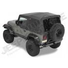 """Bâche complète """"Supertop NX"""" avec fenêtres teintées, couleur: Black Denim pour Jeep Wrangler YJ"""