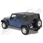 """Bâche complète """"Supertop NX"""" avec fenêtres teintées, couleur: Black Diamond, Jeep Wrangler JK Unlimited (4 portes)"""
