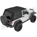Bache complete Trektop Pro Hybrid Jeep Wrangler JK (2 portes)