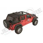 Bache complete Trektop Pro Hybrid Jeep Wrangler JK Unlimited (4 portes)