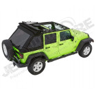 Bache complète Trektop NX Glide couleur: Black Diamond Jeep Wrangler JK Unlimited (4 portes)