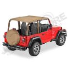 "Bikini ""Strapless"" Version Safari Couleur: Spice Jeep Wrangler TJ"