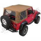 Bâche complète SoftTop (couleur: marron, spice) Jeep Wrangler TJ