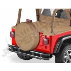 """diamètre total du pneu: 79cm, Housse de roue de secours, 30"""" à 31"""" Couleur: MARRON (spice)"""
