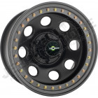 Jante Acier Noir Bead Lock 10x15 / 5x114.3 / ET: -44 Le systeme Beadlock est un système de mobilité et de sécurité pour jantes plates démontables. Utilisés depuis de nombreuses années par l'armée, pour les véhicules militaires 4x4 et 6x6. Ce prin