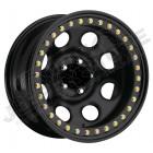 Jante acier BeadLock couleur noir 5x127 - 9x17 - ET: -10