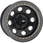 Jante acier Bead Lock couleur noir 5x127 - 9x17 - ET: -44