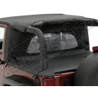 Windjammer Wrap Around couleur noir Wrangler JK (2 portes)
