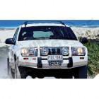 Pare chocs avant acier avec porte treuil pour Jeep Grand Cherokee WJ, WG