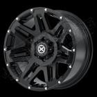 Jante aluminium Series ATX200 couleur: noir , 8.5x18 - 5x127 - ET: +15