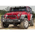Pare chocs avant acier avec ou sans porte treuil type Spartacus pour Jeep Wrangler JK
