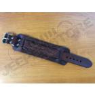 Bracelet cuir réglable avec gravure Jeeper un jour Jeeper toujours longueur totale 27cm