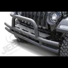 Pare chocs avant tubulaire acier noir (sans emplacement anti-brouillard) Jeep Wrangler JK